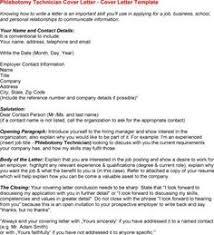 phlebotomy cover letter for resume phlebotomist cover letter