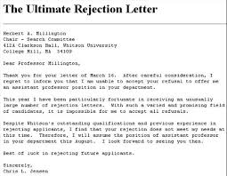 Funniest Rejection Letters Ever... - TheEmployable Funniest Rejection Letters Ever…