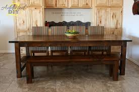 diy elegant oak farmhouse table free plans rogue engineer build your own rustic furniture