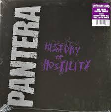 <b>Pantera</b> - <b>History Of</b> Hostility (2015, Vinyl) | Discogs