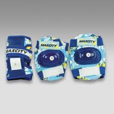 <b>Защита роликовая MaxCity</b> Teddy р. М, blue — купить за 445 руб.