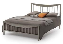 Bridge Full Metal Platform Bed Amisco 12371 54 Frame