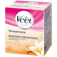 Теплый <b>воск</b> Veet универсал. для нормальной кожи, 250 г ...