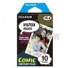 Купить <b>Fujifilm Colorfilm</b> Comic <b>10</b>/<b>1PK для</b> Instax mini 8/7S/25/50S ...