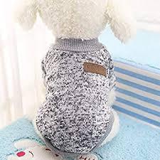 Leoie <b>Dog</b> Classic <b>Sweaters</b>, <b>Pet Puppy</b> Warm <b>Clothes</b>, <b>Winter Soft</b> ...