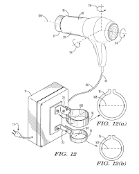 patent us20120324755 combination hair hand dryer assembly, and on simple electrical circuit diagram of a hair dryer