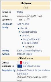 Idioma maltés