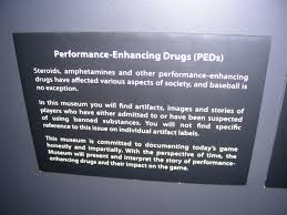 baseballva d ramblings of a traveling baseball fan statement on performance enhancing drugs