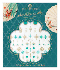 <b>Наклейки Adventure</b> Awaits 3D Jewellery <b>Nail</b> Sticker от Essence с ...