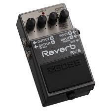 BOSS RV-6, купить <b>педаль эффектов BOSS</b> RV-6 - Аудиомания