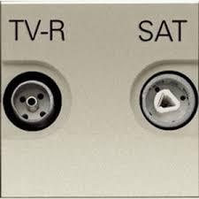 <b>АББ Зенит</b> шампань : <b>Розетка</b> ТВ-СПУНИК <b>TV</b>-<b>R</b>-<b>SAT</b> оконечная ...