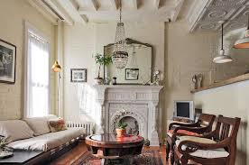 chic living room dcor:  antiques give the living room a sense of uniqueness design laura garner