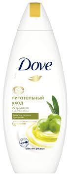 <b>Крем</b>-<b>гель для душа</b> Dove <b>Питательный</b> уход с маслом оливы ...