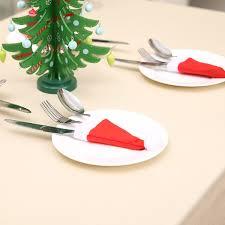 10 PCS <b>Christmas decoration</b> tableware box cover tableware ...