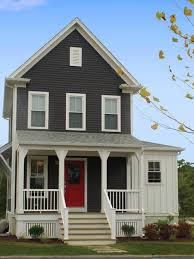 Homes Painted Grey Exterior Paint Ideas Exterior Lovely Gray - Black window frames for new modern exterior