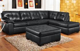 black leather couch set black leather sofa
