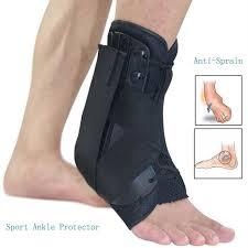 <b>Ankle Brace</b> Support Sports <b>S</b>/<b>M</b>/<b>L Size</b> Adjustable Straps Ankle ...