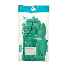 <b>Перчатки латексные</b> HQ Profiline <b>размер</b> M, цвет зеленый в ...