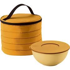 <b>Набор Handy</b>: <b>термосумка</b> и контейнер, круглый, желтый с ...