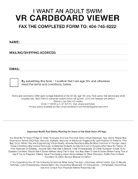 google cardboard virtual reality headset fax form have to fill out the form and fax it to 404 745 8222 there is more info here this offer expires 6 7 while supplies last