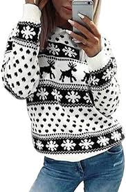 hudiemm0B <b>Christmas</b> Sweatshirt, <b>Christmas</b> Costumes, Chic ...