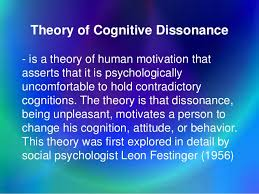 Image result for a theory of cognitive dissonance leaon festinger