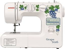 <b>Швейная машина Janome Grape</b> 2016 купить в интернет ...