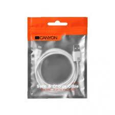 USB-<b>кабель Canyon</b> SYNC&CHARGE <b>CABLE</b> CNE-CFI1 White ...