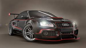 <b>Audi Black</b> and <b>Red</b> Tuning 1920x1080 download | Автомобили ...