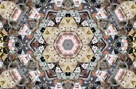 Kaleidoscopic Panther-Printed Shirts : kaleidoscope top via Relatably.com