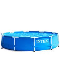Каркасный круглый <b>бассейн Metal</b> frame 305x76 см, 4485 л, <b>Intex</b> ...