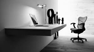 kitchen decoration ergonomic home office design idea with minimalism in gray great black white home office awesome black white office design