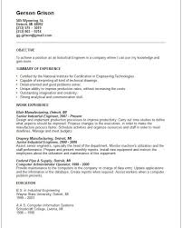 example industrial engineer cover letter