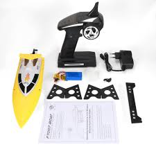 <b>Feilun FT007 2.4G 4CH</b> Water Cooling RC Racing Boat 20km/h ...