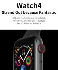 LEMFO <b>Bluetooth Smart Watch Series</b> 4 Heart Rate Monitor ...