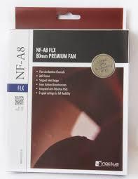Обзор 80 мм <b>вентилятора</b> Noctua NF-A8 FLX
