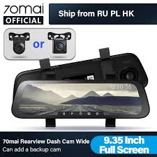 English Version <b>70mai</b> Smart <b>Dash</b> Cam <b>Mirror 70 MAI Rearview</b> ...
