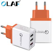 <b>Olaf</b> USB Charger Charger <b>Quick Charge</b> 3.0 For iphone X 8 7 Fast ...