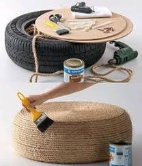 Image result for crochet recycled tires