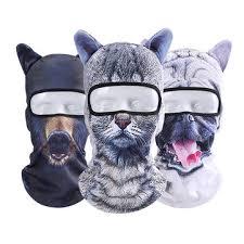 unisex cycling bicycle ski <b>3d animal</b> neck full <b>face mask</b> hat at ...