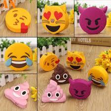 <b>Cartoon Cute Emoji</b> Portable Phone Charger Power Bank External ...