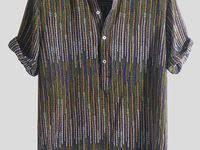 28 <b>Men</b> Casual <b>Printed Short Sleeves</b> Shirt ideas