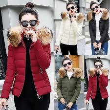 Coats, Jackets & Vests <b>Winter Women Slim</b> Cotton Padded Coat ...