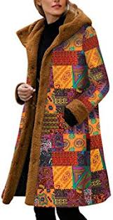 Kininana Women Retro Ethnic Ethnic Style Print ... - Amazon.com