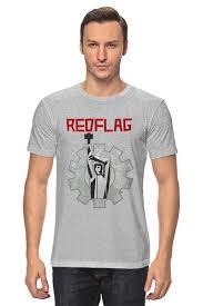 <b>Футболка классическая Red</b> Flag #1578499 от OEX design по ...