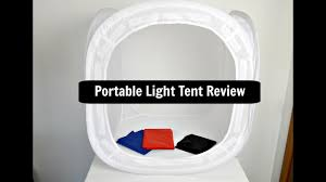Photography <b>Light Cube</b> Tent Review (Cndirect US) - YouTube