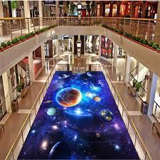 wellyu <b>Custom floor</b> decoration <b>painting 3D</b> обои Star Galaxy living ...