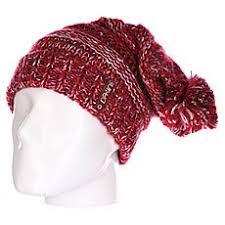 Бордовые женские шапки с помпоном в интернет-магазине