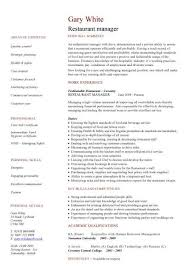 management cv template  managers jobs  director  project    product manager cv  middot  purchasing manager cv  middot  restaurant manager cv