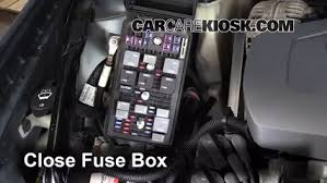 replace a fuse 2004 2008 pontiac grand prix 2008 pontiac grand 6 replace cover secure the cover and test component